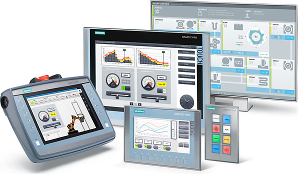 HUMAN MACHINE INTERFACE (HMI) : PROCESS SYSTEM VISUALIZATION AND CONNECTION TO PLC