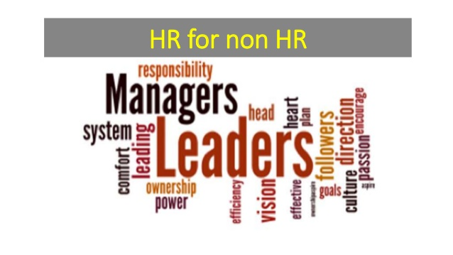 TRAINING TENTANG HR for Non HR Management