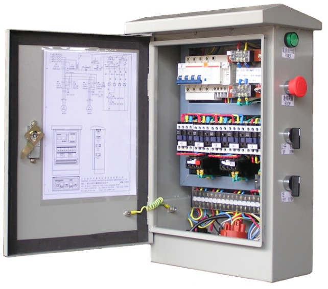 HYDRAULIC / PNEUMATIC & ELECTRIC CONTROL SYSTEM