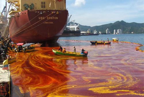 PELATIHAN OIL POLLUTION