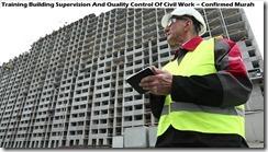 training pengawas bangunan dan pengendalian mutu bangunan konstruksi murah
